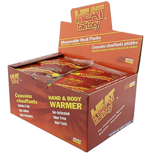 Heat Factory Premium Hand Warmer, 40 Pairs