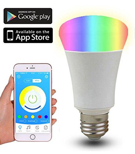 icolorlive-bluetooth-led-light-bulb-rgbw-smart-hue-home-kit-e27-cell-phone-control
