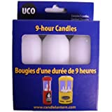 UCO 9-Hour White Candles for Candle Lanterns - 3-Pack