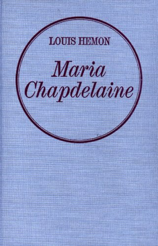 Maria Chapdelaine Relie