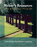 Writers Resources: From Sentence to Paragraph (with Writers Resources 2.0 BCA/iLrn(TM) CD-ROM)