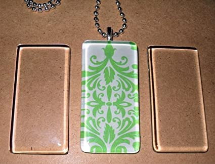Glass Tile Jewelry Glass Tile Rectangles For