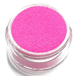 UV Neon Pink Body Glitter Party Accessory