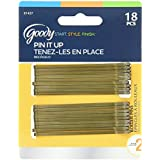 Goody Styling Essentials Bobby Pins, Brown, 18 Count