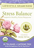 Lifestyle Awareness Teas, Caffeine Free Stress Balance Tea, 20 Count