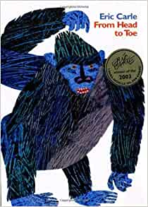 eric carle from head to toe coloring pages - from head to toe by carle eric 1st first edition