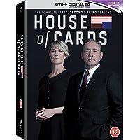 House of Cards - Season 1-3 [DVD]
