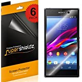 SUPERSHIELDZ- High Definition (HD) Clear Screen Protector For Sony Xperia Z1 + Lifetime Replacements Warranty [6-PACK] - Retail Packaging