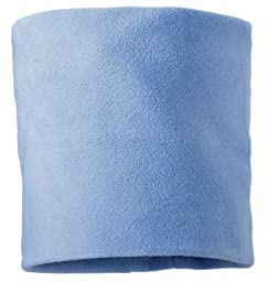 Screamer Fleece Neck Gaiter, Powder Blue, One Size