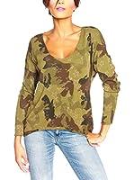 SO Cachemire & Knitwear Camiseta Manga Larga Tal (Caqui)