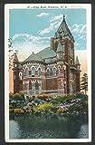 City Hall Passaic NJ postcard 1925