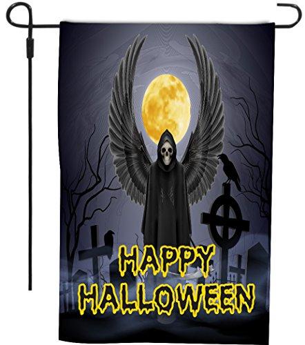 Happy Halloween Grim Reaper in
