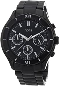 hugo boss damen armbanduhr chronograph quarz edelstahl 1502284 amazon. Black Bedroom Furniture Sets. Home Design Ideas