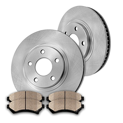 06 07 08 09 10 Fits Kia Rio5 OE Replacement Rotors w//Metallic Pads F