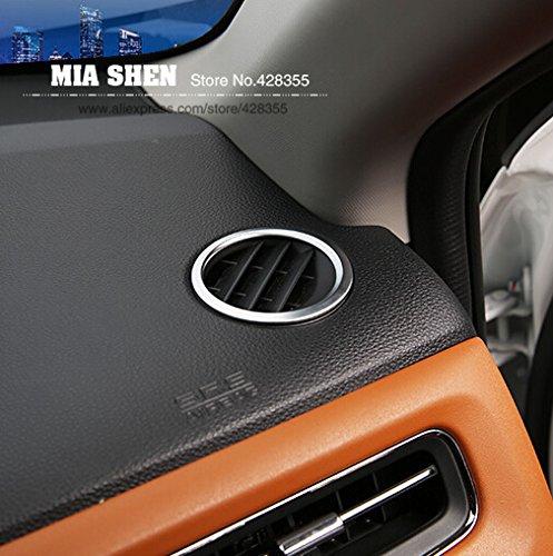Hohe Qualität 2 Stücke für HONDA HR-V HRV VEZEL 2014 2015 ABS Chrome Interior Ring Outlet Dekoration Auto Aufkleber