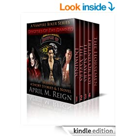 BOX SET: Disciples of the Damned (A Vampire Biker Series) Complete Season One