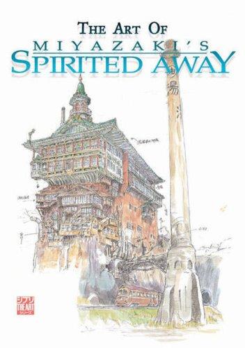 Art of Spirited Away hardcover book
