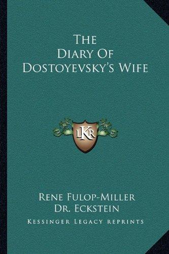 The Diary of Dostoyevsky's Wife
