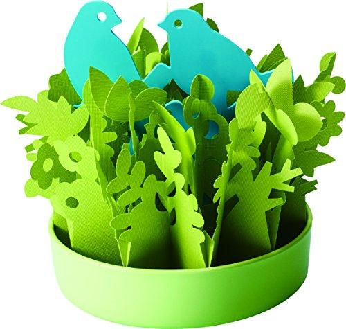 ミクニ Nature Forest(ネイチャーフォレスト) とり×グリーン 自然気化式 エコ加湿 U650-01 日本製