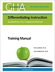 Differentiating Instruction Guidelines for Implementation: Training Manual