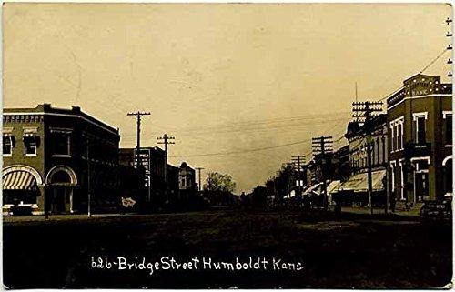 Bridge Street in Humboldt, Kansas