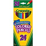 Crayola Colored Pencils, Assorted Colors, 24 count (68-4024)