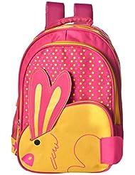 Blue Sky Polyester 16 Liters Pink School Backpack