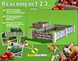 Easy Garden Box 2219150 4-Foot Extension For Raised Garden Kit