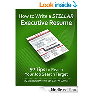 How to write a stellar executive resume 50 tips to reach your job search target