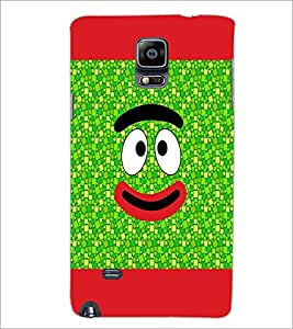 PrintDhaba Cartoon D-4741 Back Case Cover for SAMSUNG GALAXY NOTE 2 (Multi-Coloured)