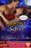 img - for A Highlander for Christmas (with Bonus Mini Tale) (Draycott Abbey Romance) book / textbook / text book