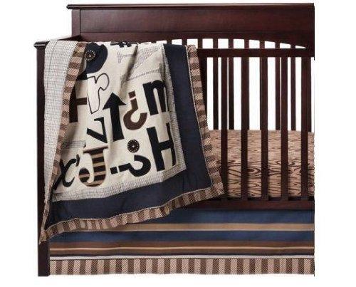 4-Piece Skyler Crib Bedding Set by CoCaLo - 1