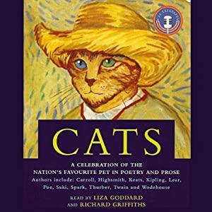 Cats | [P. G. Wodehouse, James Thurber, Edgar Allan Poe, Rudyard Kipling, John Keats, Patricia Highsmith, Muriel Spark, Lewis Carroll]