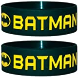 Batman - Wristband Text And Logo (in One Size)