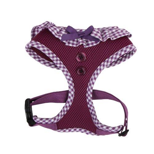 Authentic Puppia Vivien Harness, Purple, Small (Puppia Purple Vest Harness compare prices)