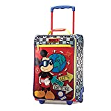 American Tourister Disney 18 Inch Upright Soft Side, Mickey, One Size
