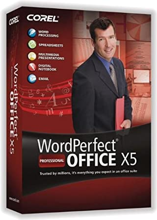 WordPerfect Office X5 Pro Upgrade [Old Version]