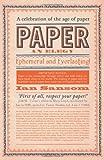"""Ian Samson, """"Paper: An Elegy"""" (Harper Collins, 2012)"""