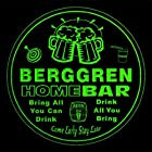 4x ccq03332-g BERGGREN Family Name Home Bar Pub Beer Club Gift 3D Engraved Coasters