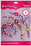 American Girl Crafts Bracelet Kit, Wood Bead