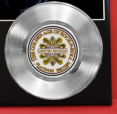 Notorious Big LTD Edition Platinum Record Display - Music Memorabilia Wallart -