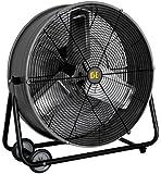 """BE Pressure FD24 24"""" Drum Fan, 2 Speed"""