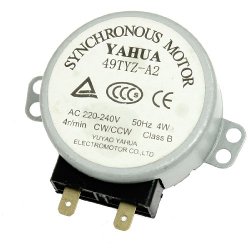 Ac 220-240V 50Hz 4Rpm Synchronous Motor For Microwave Oven