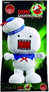 Domo Ghostbusters Stay Domo Plush with Ghostbusters Theme Song