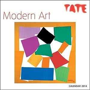 2014 Modern Art Wall Calendar