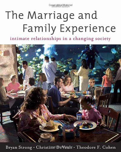 The Marriage and Family Experience: Intimate...