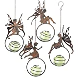 Grasslands Road Fairy Ornament Assortment, 13-Inch, Set of 4