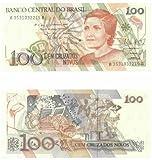 Brazil ND (1989) 100 Cruzados Novos, Pick 220a