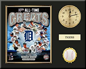 Detroit Tigers All Time Greats Team Composite Photo Inserted In A Gold Slide In Frame... by Art and More, Davenport, IA