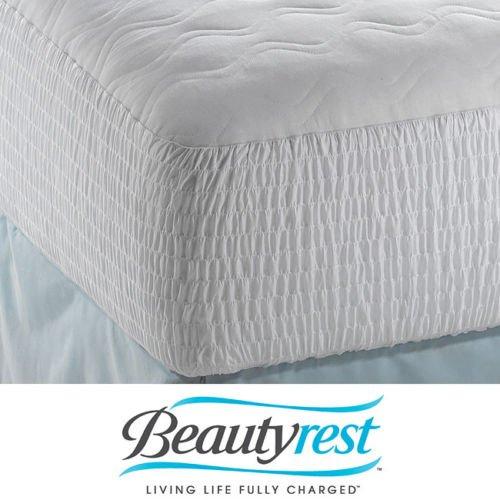 Beautyrest Cotton Top Mattress Pad front-991500